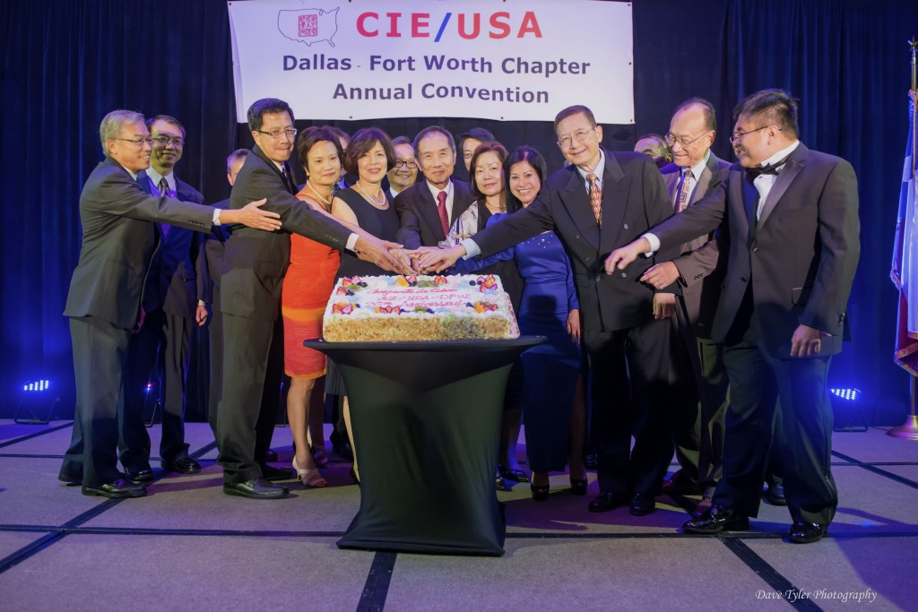 2014 CIE/USA-DFW Convention - Cake Cutting Ceremony by Past Presidents